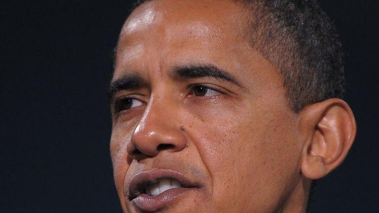 Barack Obama le 19 janvier 2009 (© AFP PHOTO / Mandel NGAN)