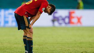 L'Espagne, qui affronte la Pologne à Séville samedi, est déjà sous pression. (JOSE MANUEL VIDAL / POOL)