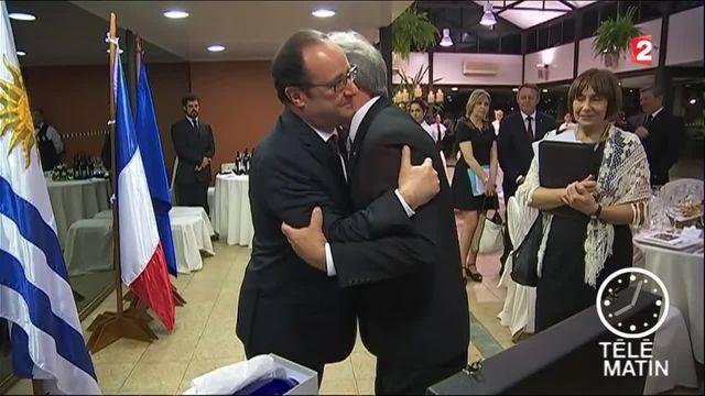 François Hollande a écourté sa visite en Uruguay pour assister au Salon de l'Agriculture