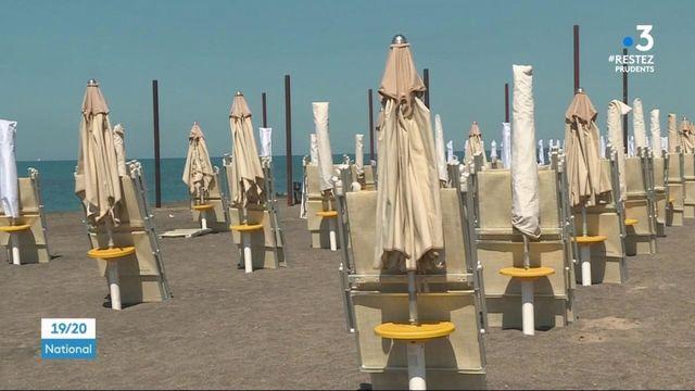 Déconfinement : en Italie, les plages se préparent à accueillir les visiteurs