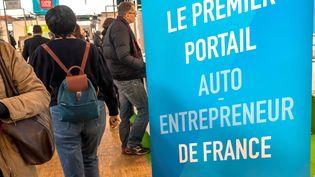 Salon du travail et mobilité professionnelle à Paris, le 20 juiller 2017. (MAXPPP)