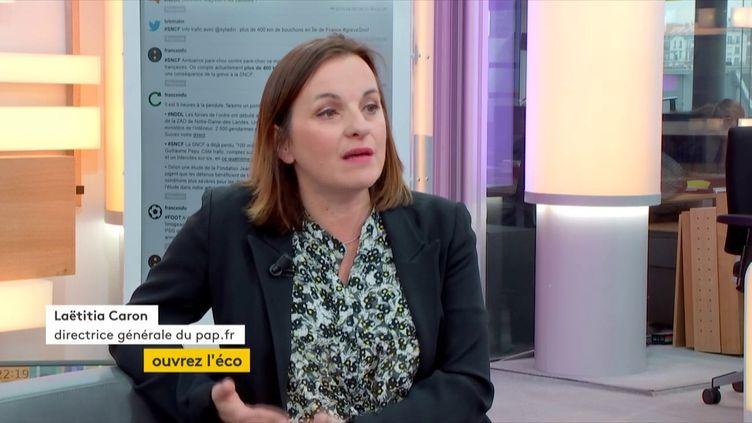 Laetitia Caron, DG de pap.fr (FRANCEINFO)