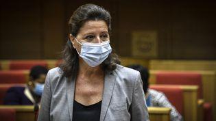 Agnès Buzyn, ministre de la Santé entre mai 2017 et mars 2020. (STEPHANE DE SAKUTIN / AFP)