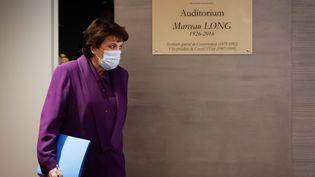 Roselyne Bachelot, ministre de la Culture, à Matignon le 22 octobre 2020 (LUDOVIC MARIN / POOL)