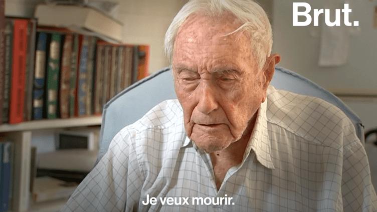 VIDEO. À 104 ans, il va en Suisse pour mettre fin à ses jours légalement  (BRUT)