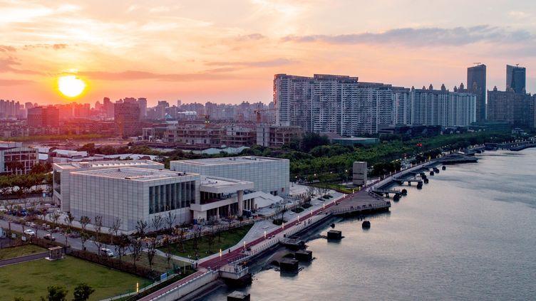 Le Centre Pompidou à Shanghai. (AKI/WEST BUND MUSEUM)