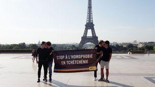 Amnesty International espère voir le cliché circuler abondamment aujourd'hui sur les réseaux sociaux. (Mathilde Lemaire / Radio France)