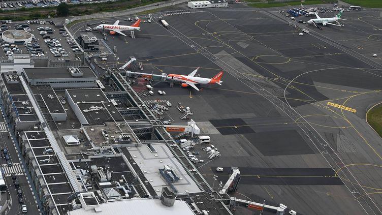 L'aéroport de Nantes Atlantique. Le Brexit change la donne, mais des mesures d'anticipation ont déjà été prises pour les compagnies et pour les passagers.  (MAXPPP)