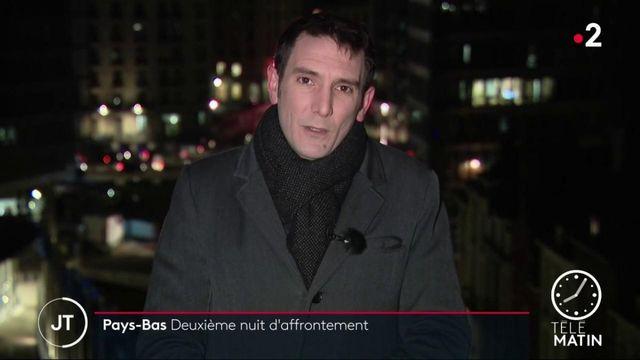 Deuxième nuit d'émeutes aux Pays-Bas