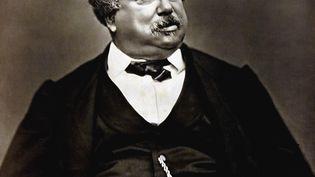 Une photo d'Alexandre Dumas réalisée par Carjat. (- / AFP)