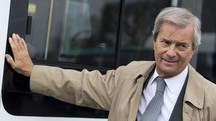 Vincent Bolloré, PDG du groupe Bolloré et président du conseil de surveillance de Canal+, le 2 décembre 2015 à Paris. (KENZO TRIBOUILLARD / AFP)