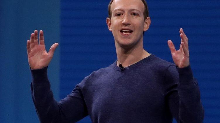 Mark Zuckerberg, le PDG de Facebook. (JUSTIN SULLIVAN / GETTY IMAGES NORTH AMERICA)