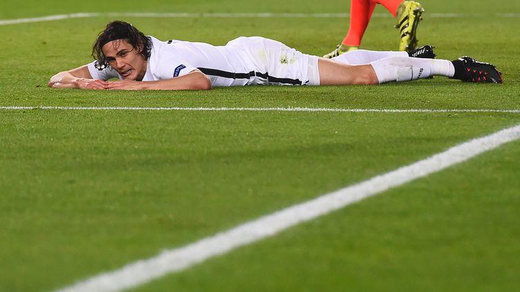 Les Parisiens ont été battus 6 buts à 1 au Camp Nou, à Barcelone par les joueurs de Luis Enrique. (JOSEP LAGO / AFP)