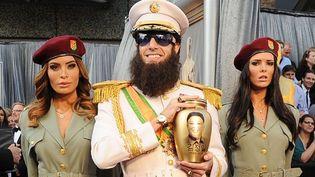 Le général Aladeen alias Sacha Baron Cohen en pleine représentation aux Oscars... (26/02/2012)  (AFP / Getty Images North America)