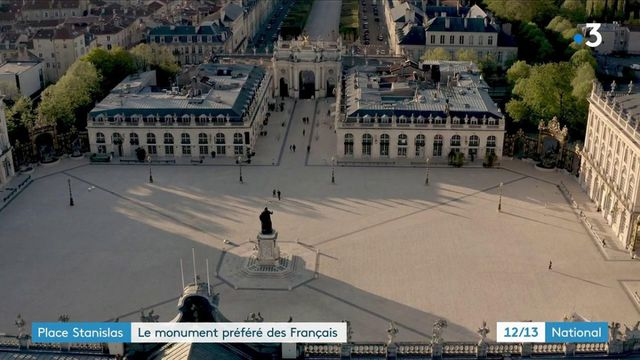 Patrimoine : la place Stanislas à Nancy élue monument préféré des Français