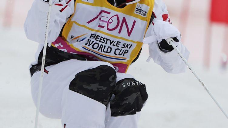 La Française Perrine Laffont à l'assaut de la 1re épreuve de la Coupe du monde 2020-2021 (STR / JIJI PRESS)