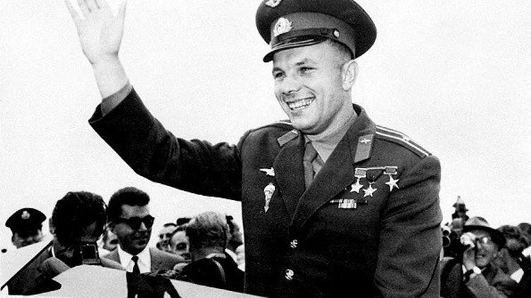 Le premier cosmonaute de l'histoire Youri Gagarine, en 1961 (/ AFP)