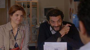 Agnès Jaoui et Ramzy Bedia  (Le Pacte)