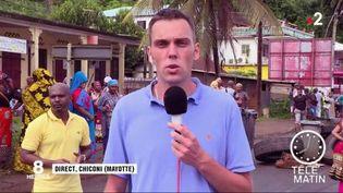 Aurélien Février, de Mayotte La 1ère. (FRANCE 2)