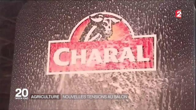 Salon de l'agriculture : des éleveurs en colère s'en prennent au stand Charal