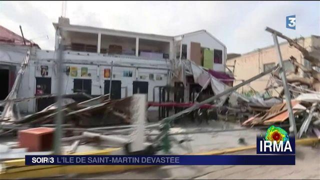 Saint-Martin : les habitants toujours dans le dénuement total