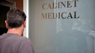 Cabinet médical. Image d'illustration. (SALESSE FLORIAN / MAXPPP)