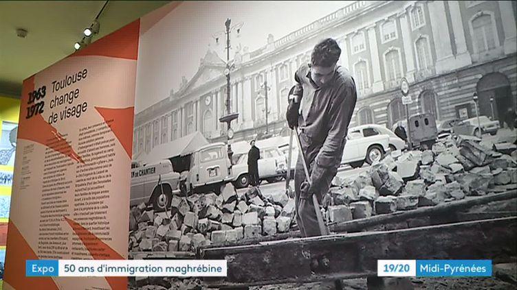 L'exposition retrace un demi siècle d'immigration à Toulouse (FRANCEINFO)