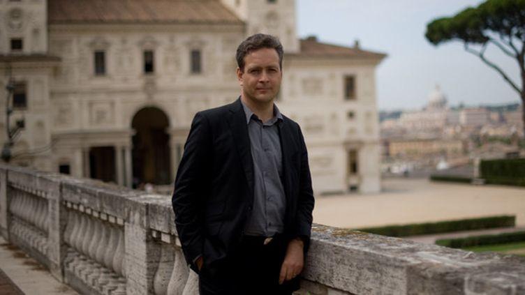 Eric de Chassey à la Villa Medicis (2009)  (Christophe Simon/AFP)