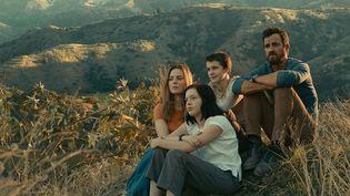 Justin Theroux, alias Allie Fox, en fuite avec sa famille vers la côte des Mosquitos au Honduras. (COURTESY OF APPLE)