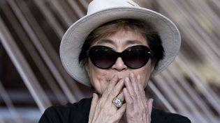 Yoko Ono réaffirme ne pas avoir provoqué la séparation des Beatles  (Rebecca Blackwell/AP/SIPA)