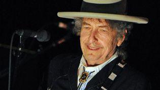 Bob Dylan est ce week-end à Stockholm pour deux concerts et récupérer son prix Nobel (ici en Australie en avril 2011)  (Torsten Blackwood / AFP)