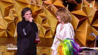 Capture écran des Victoires de la musique 2018 sur France 2. (FRANCE 2)