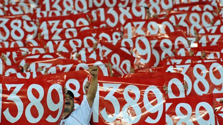 Les supporters de l'Etoile Rouge de Belgrade