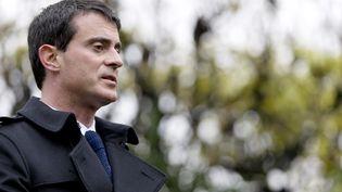 Le Premier ministre, Manuel Valls, à Paris, le 16 décembre 2014. (KENZO TRIBOUILLARD / AFP)