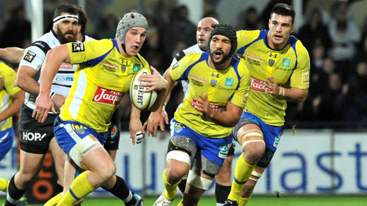 Jonathan Davies (Clermont) (THIERRY ZOCCOLAN / AFP)