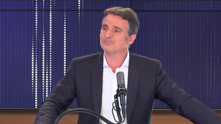 Eric Piolle, maire EELV de Grenoble le 18 juin 2021 sur franceinfo. (FRANCEINFO / RADIO FRANCE)