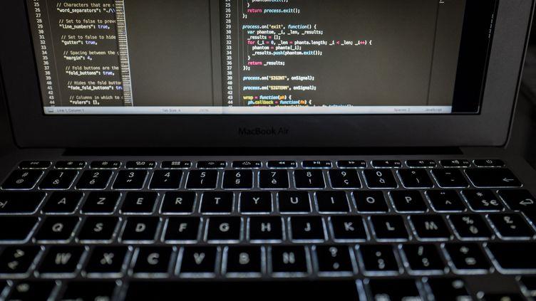 Des lignes de code sur un écran d'ordinateur (illustration). (MATHIEU THOMASSET / HANS LUCAS)