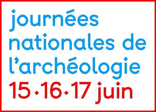 Le logo des Journées nationales de l'archéologie 2018  (DR)