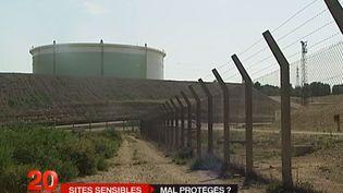 La sécurité des sites sensibles pose question. (CAPTURE D'ECRAN / FRANCE 2)