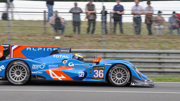 L'Alpine N.36 au Mans