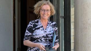 La ministre du Travail,Muriel Pénicaud, quitte le palais de l'Elysée, à Paris, le 27 juin 2018. (LUDOVIC MARIN / AFP)