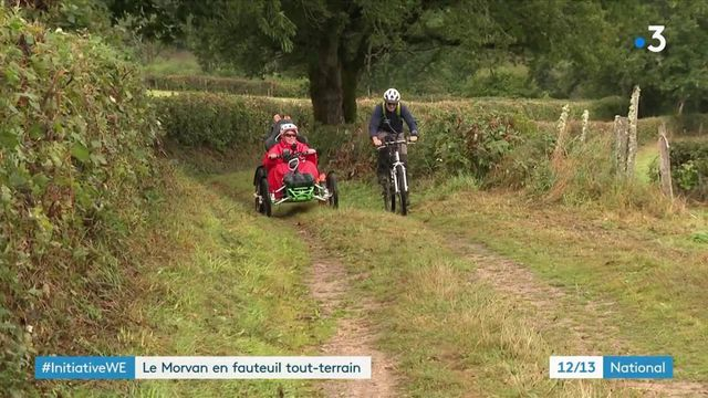 Initiative : parcourir le Morvan en fauteuil tout-terrain