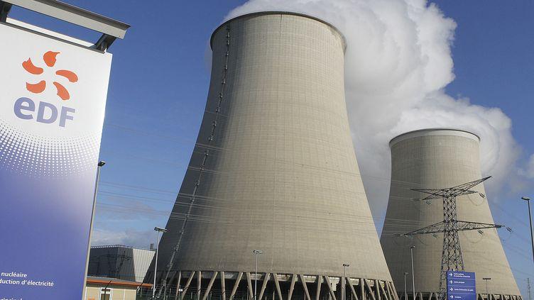 La centrale nucléaire de Nogent-sur-Seine (Aube) le 5 décembre 2011. (FRANCOIS NASCIMBENI / AFP)