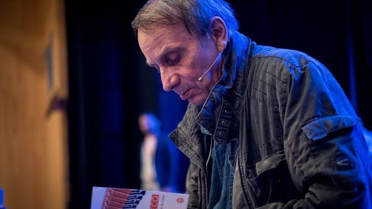 L'écrivainMichel Houellebecq. (GUILLAUME PINON / NURPHOTO)