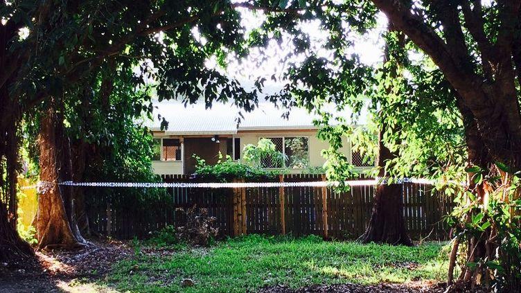 Huit enfants ont été retrouvés morts dans cette maison de Cairns (Australie), le 19 décembre 2014. (CATHERINE SHAW / AFP)