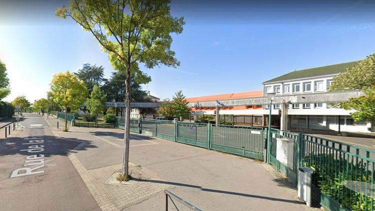 Le lycée Gaspard Monge La Chauvinière, à Nantes en Loire-Atlantique. (GOOGLE STREET VIEW)