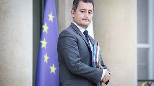 Le ministre des Comptes publics Gérald Darmanin, le 5 décembre 2018 à la sortie du Conseil des ministres, à l'Elysée. (MAXPPP)