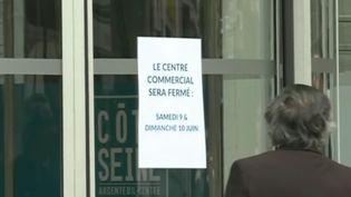 Accident centre commercial Argenteuil, juin 2018. (FRANCE 3)