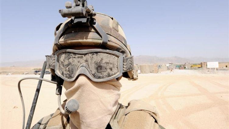 Soldat français en Afghanistan (août 2009) (AFP)