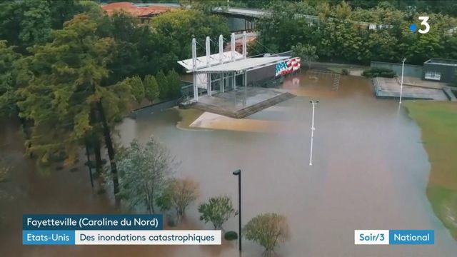 Etats-Unis : l'ouragan Florence inonde et isole la Caroline du Nord